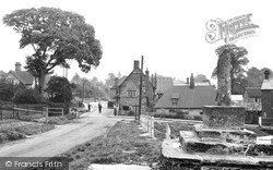 Quainton, The Old Cross And Green c.1955