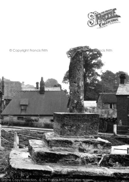 Photo of Quainton, The Old Cross c.1955