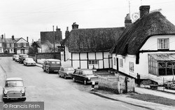 Quainton, The Sportsman Inn And Cottage c.1965