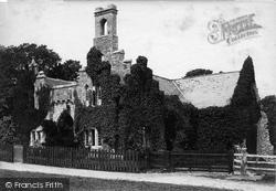 Quarr Abbey, c.1883