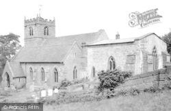 Quatford, St Mary Magdalene Church c.1965