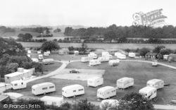 Quatford, The Severn Valley Caravan Park c.1965