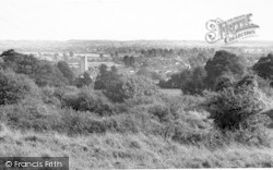 Queen Camel, General View From Camel Hill c.1955