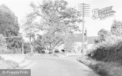 Queen Camel, Village Entrance From Iron Box c.1955