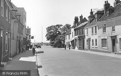 Queenborough, High Street 1952