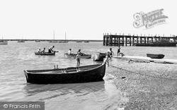 Queenborough, The Slipway c.1955
