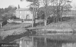 Conder Mill Dam c.1955, Quernmore