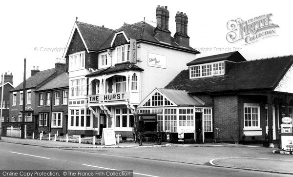 Quorn, The Hurst Hotel c1965