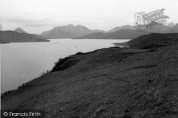 Raasay, View Of Skye And Scalpay 1962
