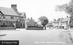 Radcliffe On Trent, Main Road c.1955
