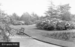 Radcliffe On Trent, Memorial Park c.1955