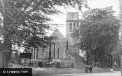 Radcliffe On Trent, Parish Church c.1955