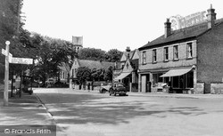 Radcliffe On Trent, Post Office And Main Road c.1955