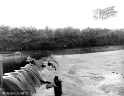 Radcliffe On Trent, The Weir c.1955