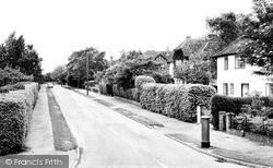 Radlett, Aldenham Avenue c.1960