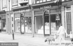 Radlett, Shops, The Oakway c.1960