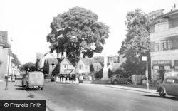 Radlett, Watling Street And War Memorial c.1950