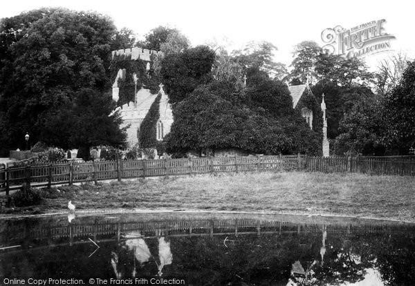 Photo of Radley, St James's Church 1899