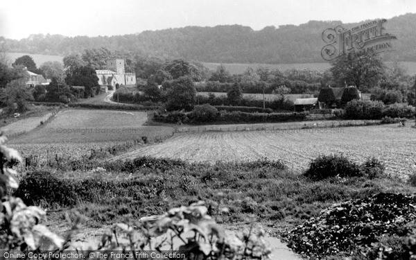 Photo of Radnage, Church Of St Mary And Bledlow Ridge c.1955