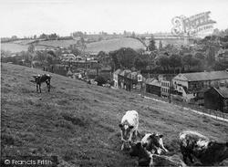 Radstock, General View c.1955