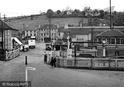 Level Crossing And Station c.1955, Radstock