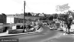 Radstock, Main Road c.1965