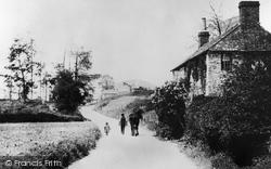Radstock, Upper Coombe End 1914
