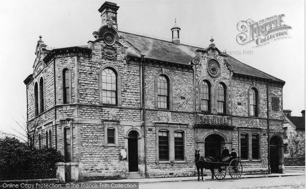 Photo of Radstock, Victoria Hall 1914