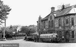Radstock, Victoria Hall And War Memorial c.1950