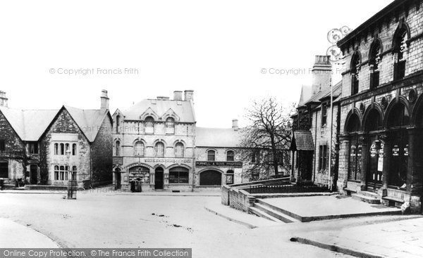 Photo of Radstock, Wells Hill And High Street 1914