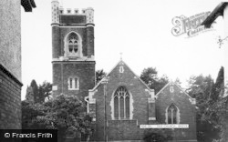 Radyr, The Church c.1965