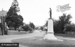 Radyr, The Memorial c.1965