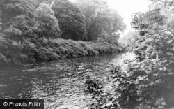 Radyr, The River c.1965