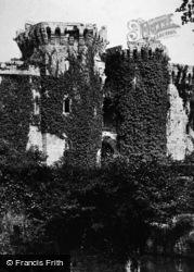Raglan, Castle c.1890