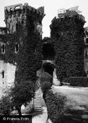Raglan, Castle Entrance 1893