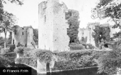 Raglan, Castle, The Keep And Moat c.1880