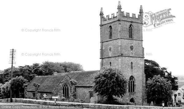 Raglan, the Church c1955