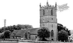 Raglan, Church Of St Cadoc c.1960