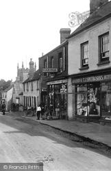 Raglan, Shops In The High Street 1914