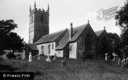 Raglan, St Cadoc's Church 1914