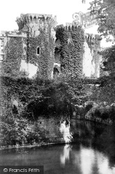 Raglan, The Castle From Moat 1893