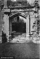 Raglan, The Castle, Grand Staircase 1914