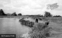 Berwick Pond c.1960, Rainham