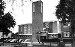 Rainham, Church Of St Thomas Of Canterbury c.1960