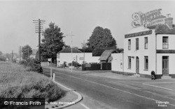 Rainham, High Street (Moor Street End) c.1955
