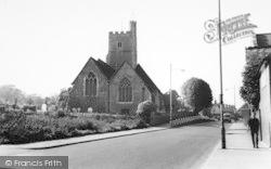 Rainham, St Margaret's Church c.1960