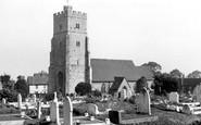 Rainham, St Margaret Parish Church c1955