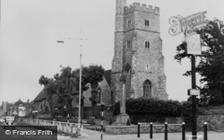 Rainham, St Margaret's Parish Church c.1955