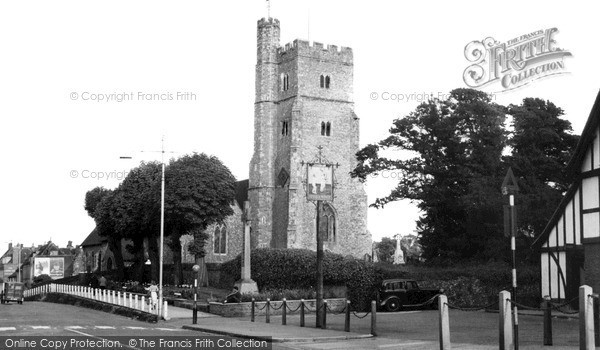Rainham, the Church c1960
