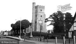 Rainham, St Margaret's Parish Church c.1960